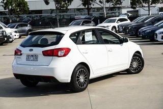 2012 Kia Cerato TD S White Sports Automatic Hatchback.