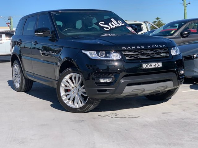 Used Land Rover Range Rover Sport L494 16MY SE Liverpool, 2016 Land Rover Range Rover Sport L494 16MY SE Black 8 Speed Sports Automatic Wagon