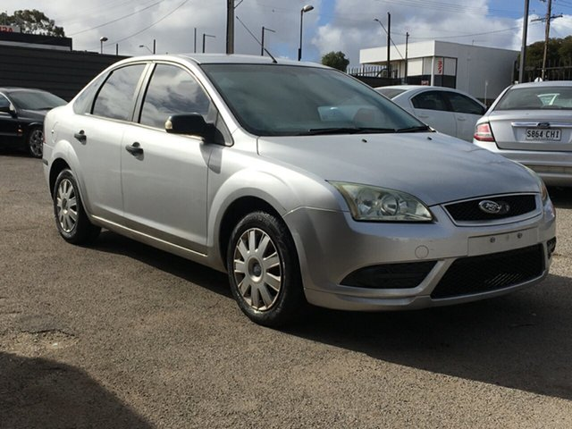 Used Ford Focus LS CL Blair Athol, 2007 Ford Focus LS CL Silver 5 Speed Manual Sedan