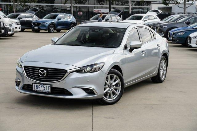 Used Mazda 6 GL1031 Touring SKYACTIV-Drive Pakenham, 2018 Mazda 6 GL1031 Touring SKYACTIV-Drive Silver 6 Speed Sports Automatic Sedan