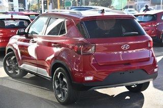2020 Hyundai Venue QX.V3 MY21 Elite ((Sunroof) Fiery Red 6 Speed Automatic Wagon.