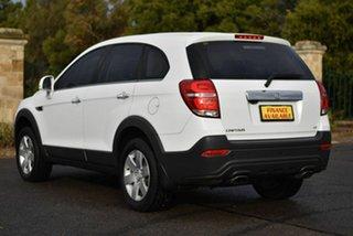 2015 Holden Captiva CG MY15 7 LS White 6 Speed Sports Automatic Wagon