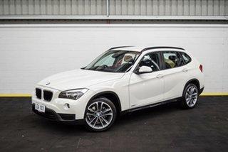 2013 BMW X1 E84 LCI MY0713 sDrive18d Steptronic White 8 Speed Sports Automatic Wagon.