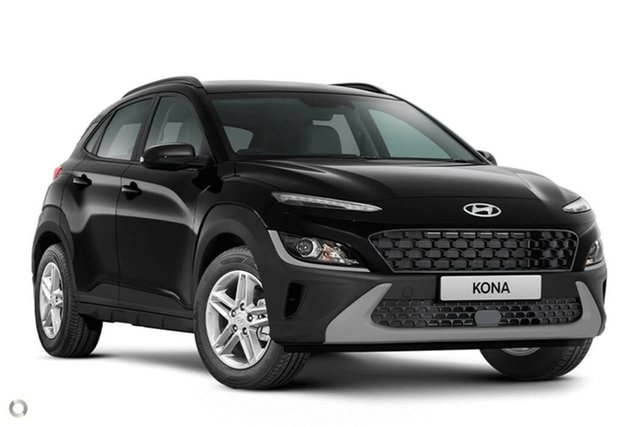 New Hyundai Kona Os.v4 MY21 2WD Nailsworth, 2021 Hyundai Kona Os.v4 MY21 2WD Phantom Black 8 Speed Constant Variable Wagon