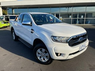 2019 Ford Ranger PX MkIII 2019.00MY XLT White 6 Speed Sports Automatic Super Cab Pick Up.
