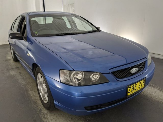 Used Ford Falcon BA XT Maryville, 2003 Ford Falcon BA XT Blue 4 Speed Sports Automatic Sedan