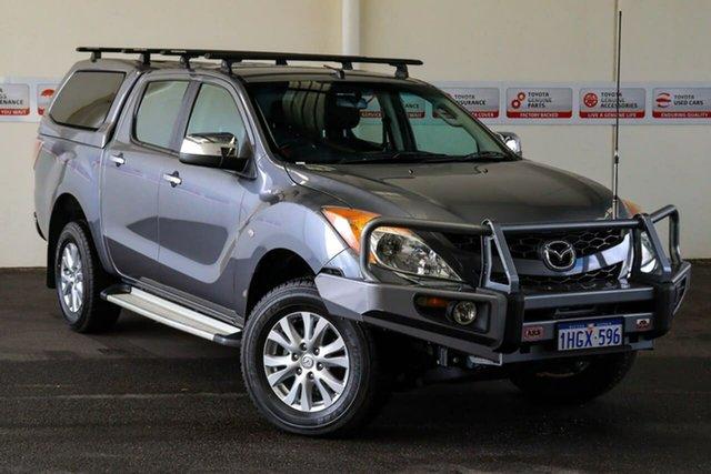 Pre-Owned Mazda BT-50 MY13 XTR (4x4) Rockingham, 2015 Mazda BT-50 MY13 XTR (4x4) Grey 6 Speed Automatic Dual Cab Utility