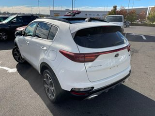 2020 Kia Sportage QL MY20 GT-Line AWD White 8 Speed Sports Automatic Wagon