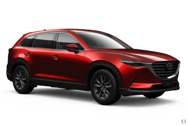 New Mazda CX-9 TC Touring SKYACTIV-Drive Waitara, 2021 Mazda CX-9 TC Touring SKYACTIV-Drive Red 6 Speed Sports Automatic Wagon