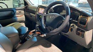 2002 Toyota Landcruiser UZJ100R GXL Grey 5 Speed Automatic Wagon