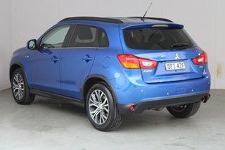 2015 Mitsubishi ASX XB MY15.5 LS Lightning Blue 6 Speed Sports Automatic Wagon.