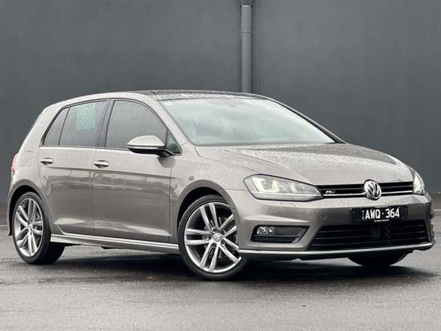 Used Volkswagen Golf VII MY17 110TSI DSG Highline Moorabbin, 2017 Volkswagen Golf VII MY17 110TSI DSG Highline Grey 7 Speed Sports Automatic Dual Clutch