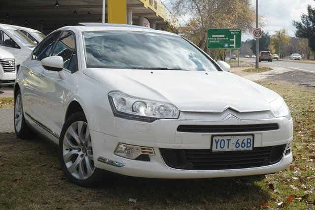 Used Citroen C5 X7 MY12 Attraction Phillip, 2012 Citroen C5 X7 MY12 Attraction White 6 Speed Sports Automatic Sedan