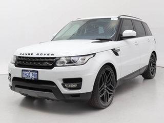 2013 Land Rover Range Rover LW Sport 3.0 SDV6 SE White 8 Speed Automatic Wagon.