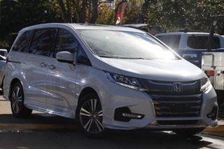 2019 Honda Odyssey RC MY20 VTi-L White 7 Speed Constant Variable Wagon.