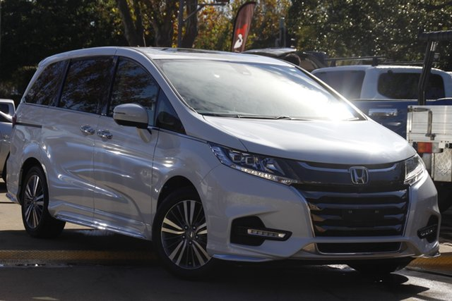 Used Honda Odyssey RC MY20 VTi-L Toowoomba, 2019 Honda Odyssey RC MY20 VTi-L White 7 Speed Constant Variable Wagon