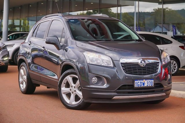 Used Holden Trax TJ MY16 LTZ Gosnells, 2016 Holden Trax TJ MY16 LTZ Grey 6 Speed Automatic Wagon