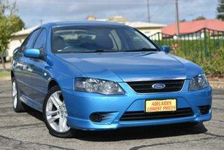 2008 Ford Falcon BF Mk II SR Blue 4 Speed Sports Automatic Sedan.