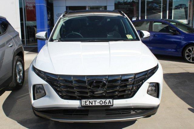 Demo Hyundai Tucson Highlander Cardiff, 2021 Hyundai Tucson NX4.V1 Highlander White Cream 6 Speed Automatic SUV