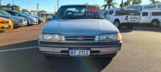 1988 Ford Telstar Ghia Silver 4 Speed Automatic Sedan.