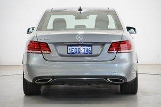 2014 Mercedes-Benz E-Class W212 805MY E400 7G-Tronic + Silver & Chrome 7 Speed Sports Automatic
