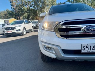 2017 Ford Everest UA Trend White 6 Speed Sports Automatic SUV