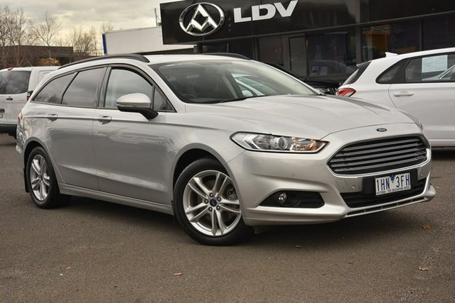 Used Ford Mondeo MD Ambiente Nunawading, 2016 Ford Mondeo MD Ambiente Silver 6 Speed Sports Automatic Wagon