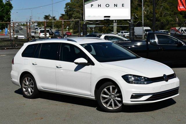Used Volkswagen Golf AU MY18 110 TSI Comfortline Underwood, 2017 Volkswagen Golf AU MY18 110 TSI Comfortline White 7 Speed Auto Direct Shift Wagon