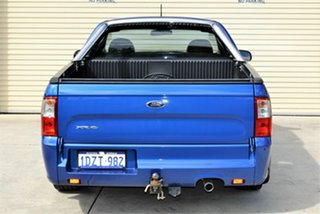 2012 Ford Falcon FG MkII XR6 Super Cab Blue 6 Speed Sports Automatic Cab Chassis