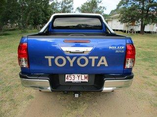 2018 Toyota Hilux GUN126R MY19 SR5 (4x4) Nebula Blue 6 Speed Automatic Double Cab Pick Up