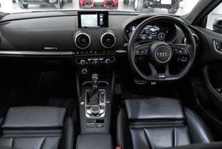 2017 Audi S3 8V MY17 S Tronic Quattro White 7 Speed Sports Automatic Dual Clutch Sedan.