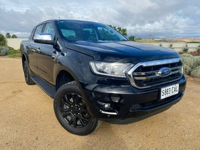 Used Ford Ranger PX MkIII 2019.00MY XLT Christies Beach, 2019 Ford Ranger PX MkIII 2019.00MY XLT Black 6 Speed Sports Automatic Double Cab Pick Up