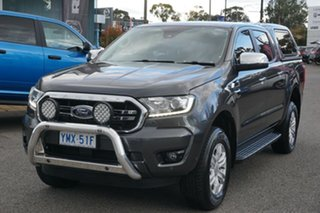 2018 Ford Ranger PX MkIII 2019.00MY XLT Hi-Rider Grey 10 Speed Sports Automatic Utility