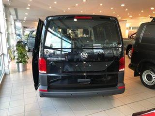 2020 Volkswagen Transporter T6.1 MY21 TDI340 SWB DSG Black 7 Speed Sports Automatic Dual Clutch Van.