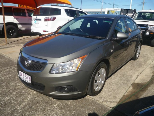 Used Holden Cruze JG CD Morayfield, 2011 Holden Cruze JG CD Grey 6 Speed Sports Automatic Sedan