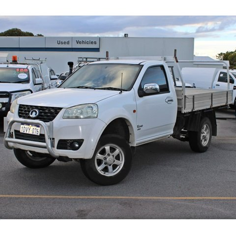 Used Great Wall V240 K2 Midland, 2011 Great Wall V240 K2 White 5 Speed Manual Cab Chassis
