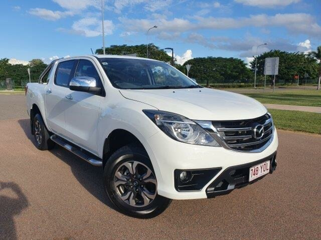 Used Mazda BT-50 UR0YG1 GT Townsville, 2018 Mazda BT-50 UR0YG1 GT White 6 Speed Sports Automatic Utility