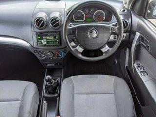 2011 Holden Barina TK MY11 Black 5 Speed Manual Hatchback
