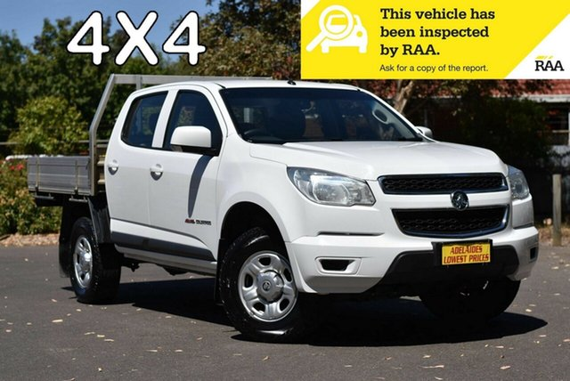 Used Holden Colorado RG MY16 LS Crew Cab Enfield, 2015 Holden Colorado RG MY16 LS Crew Cab White 6 Speed Manual Utility