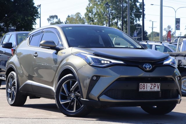 Used Toyota C-HR ZYX10R Koba E-CVT 2WD Bundamba, 2020 Toyota C-HR ZYX10R Koba E-CVT 2WD Bronze 7 Speed Constant Variable Wagon Hybrid