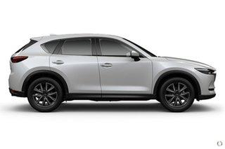 2021 Mazda CX-5 KF4W2A GT SKYACTIV-Drive i-ACTIV AWD White 6 Speed Sports Automatic Wagon.