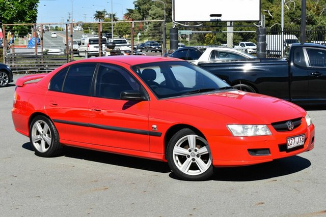 Used Holden Commodore VZ Executive Underwood, 2005 Holden Commodore VZ Executive Red 4 Speed Automatic Sedan
