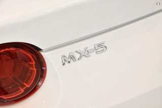 2021 Mazda MX-5 ND GT RF SKYACTIV-MT White 6 Speed Manual Targa