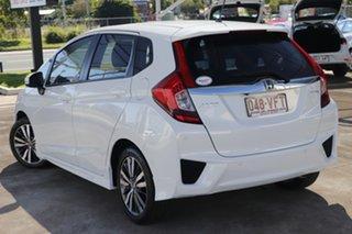 2014 Honda Jazz GF MY15 VTi-L White 1 Speed Constant Variable Hatchback.