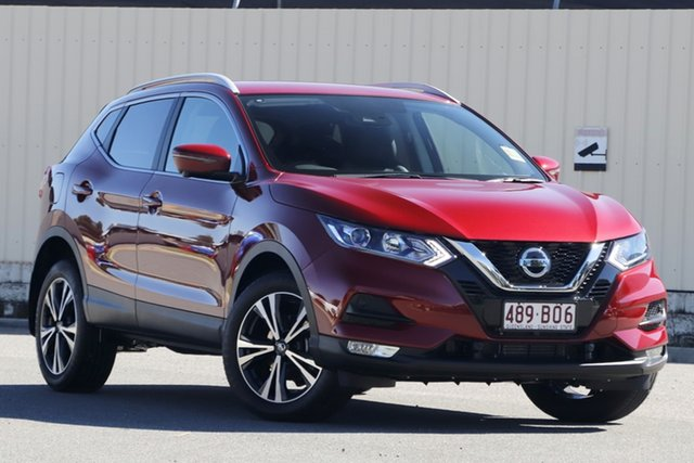 Demo Nissan Qashqai J11 Series 3 MY20 ST-L X-tronic Bundamba, 2020 Nissan Qashqai J11 Series 3 MY20 ST-L X-tronic Magnetic Red 1 Speed Constant Variable Wagon