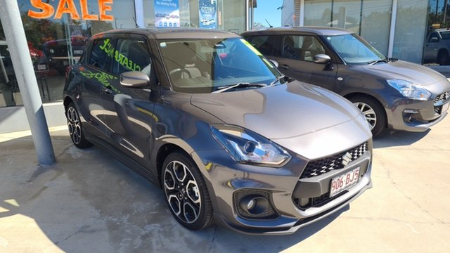Demo Suzuki Swift AZ Series II Sport Moorooka, 2020 Suzuki Swift AZ Series II Sport Mineral Grey 6 Speed Sports Automatic Hatchback