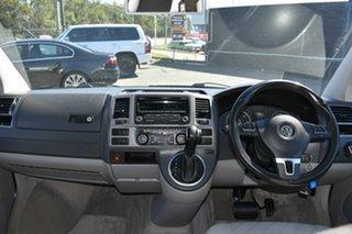 2012 Volkswagen Multivan T5 MY12 Comfortline TDI340 Silver 7 Speed Auto Direct Shift Wagon