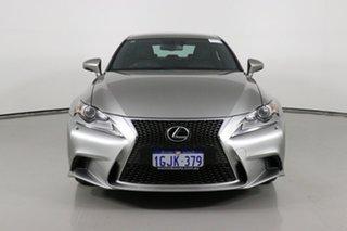2014 Lexus IS350 GSE31R MY15 F Sport Grey 8 Speed Automatic Sedan.