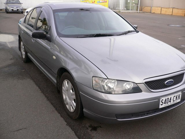 Used Ford Falcon BA XT St Marys, 2003 Ford Falcon BA XT Silver 4 Speed Sports Automatic Sedan
