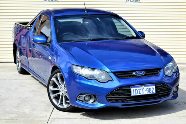 Used Ford Falcon FG MkII XR6 Super Cab Mount Lawley, 2012 Ford Falcon FG MkII XR6 Super Cab Blue 6 Speed Sports Automatic Cab Chassis